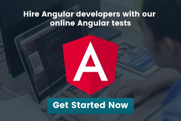 online Angular tests