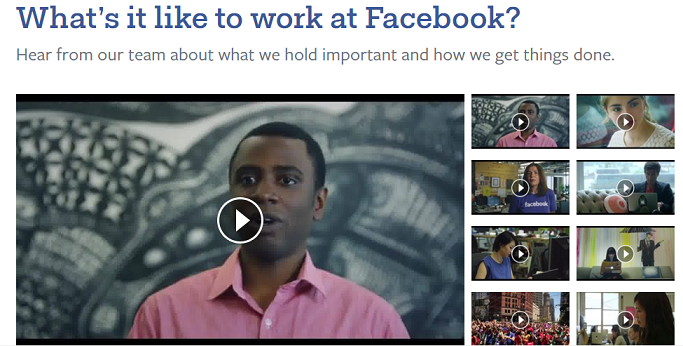 Facebook Company culture