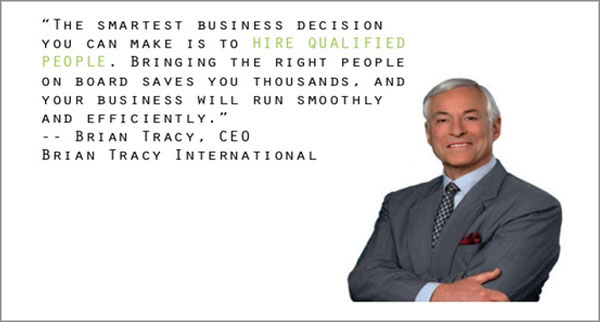Hire Qualified People Quote