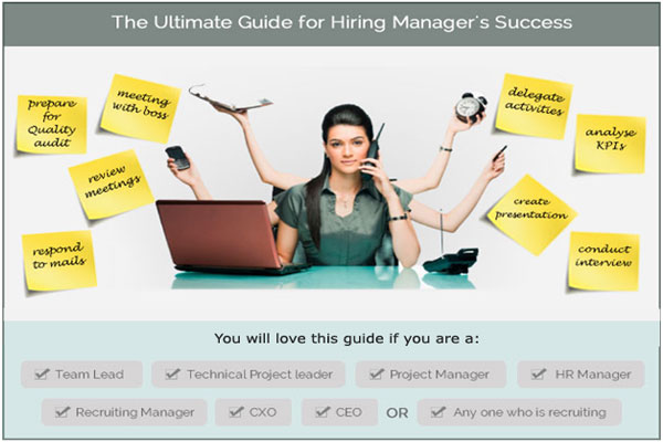 Hiring Manager guide to effective recruitment