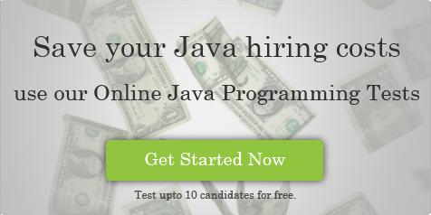 Java online assessment test
