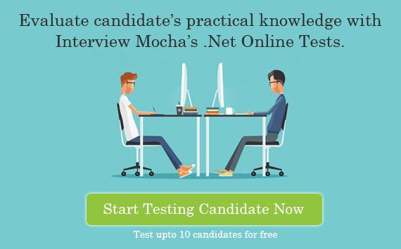 .Net & C# online tests