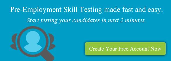 Pre-employment Skill Testing