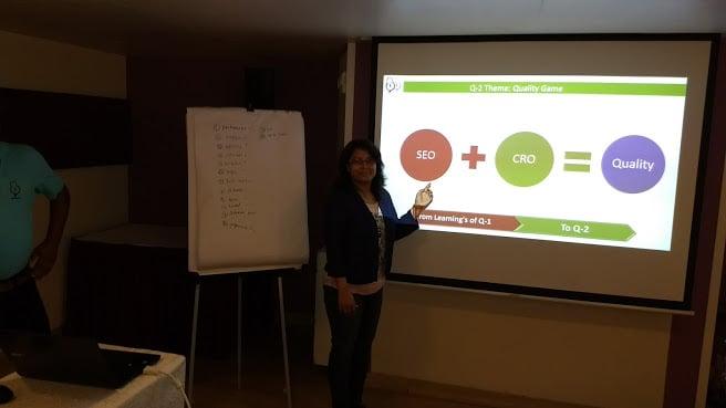 Quarterly meeting presentation