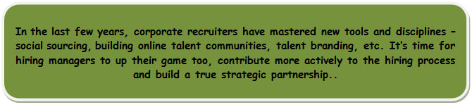contribute to the hiring process