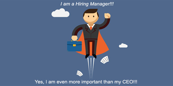 crucial role of hiring manager