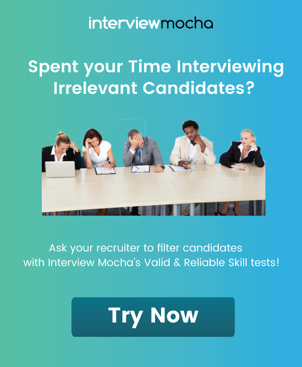 Try Interview Mocha Now