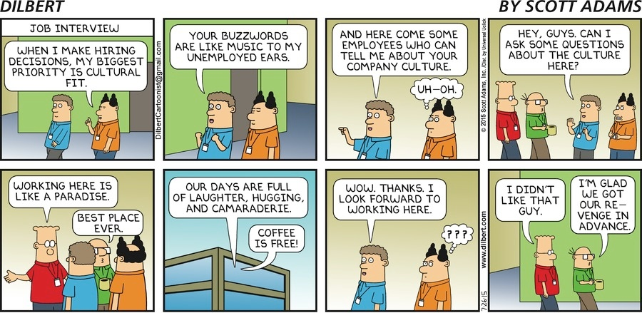 Candidate Experience- Dilbert