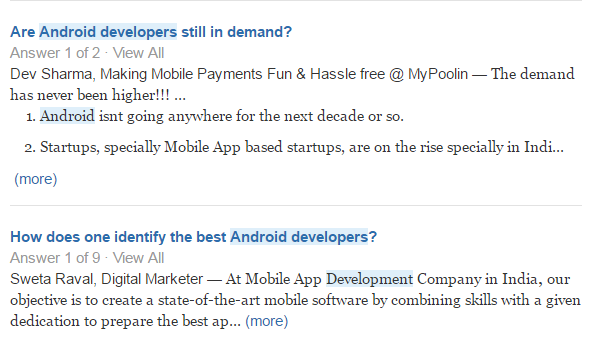 how to hire an android developer