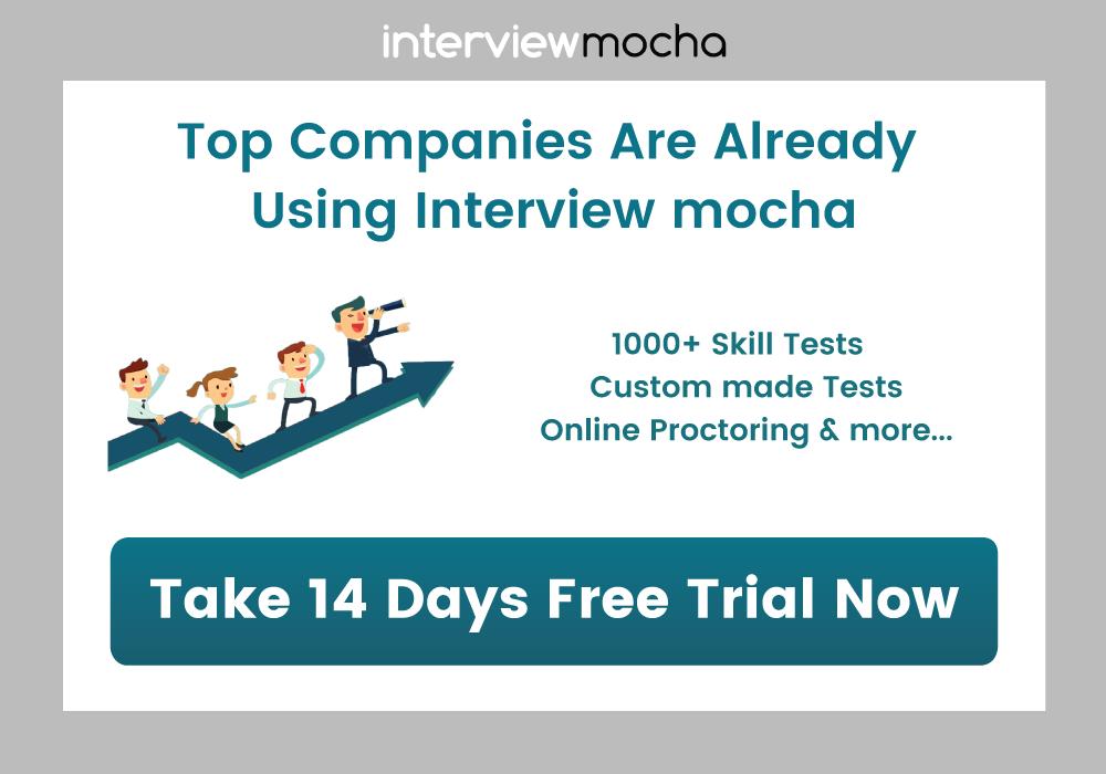Interview Mocha's online assessment software