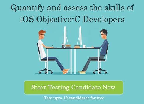 iOS Objective-C skill test