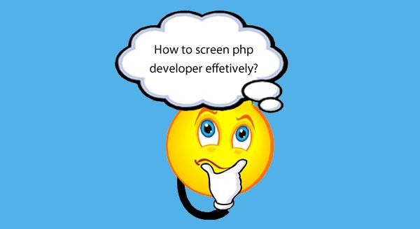 Screening PHP developer using PHP coding test