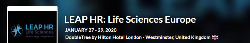 LEAP HR Life Sciences Europe 2020