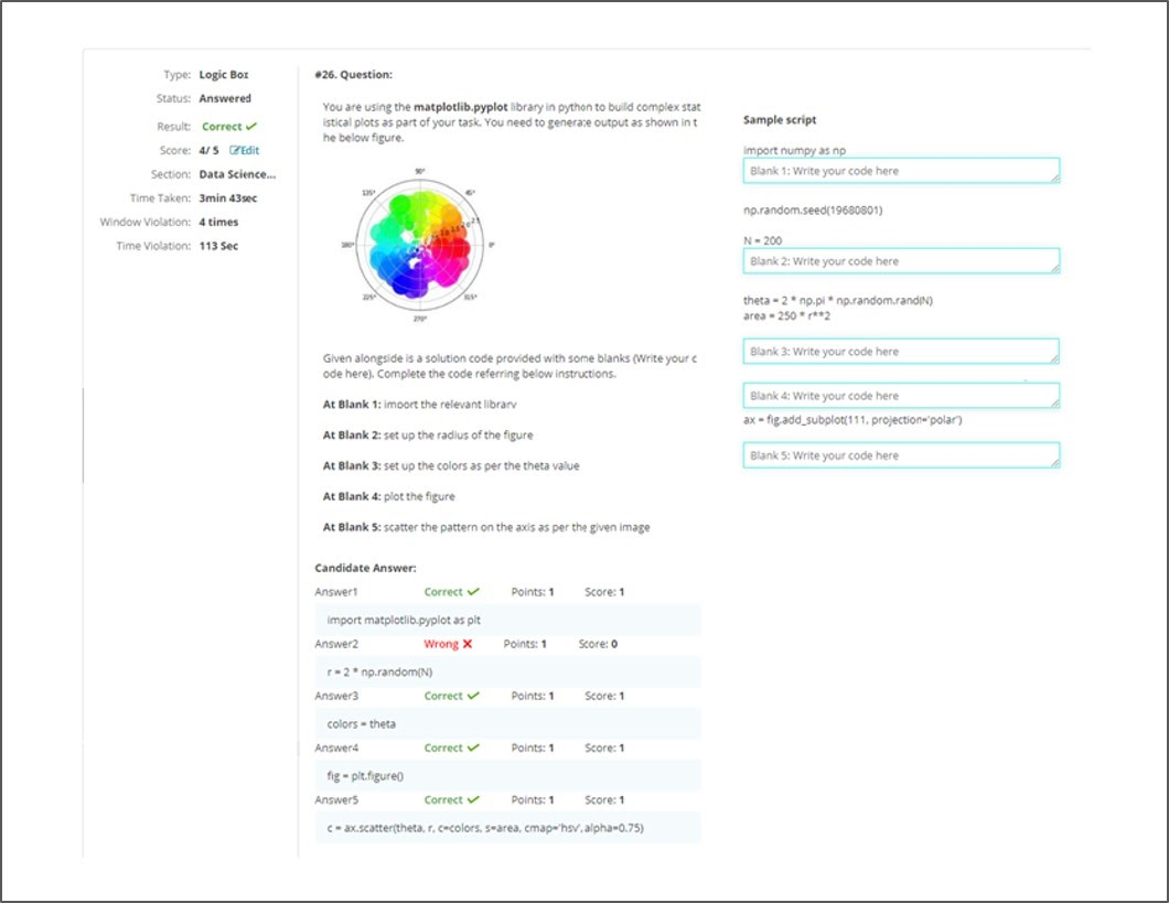 LogicBox - Sample report 4