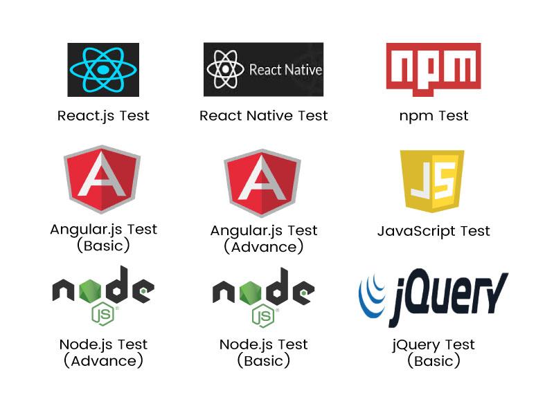 React JS Online Tests