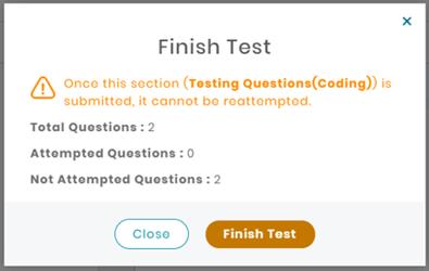 Finish Test