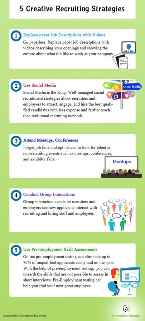 5 Creative Recruiting Strategies [Infographic]
