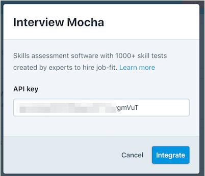 API Key usage