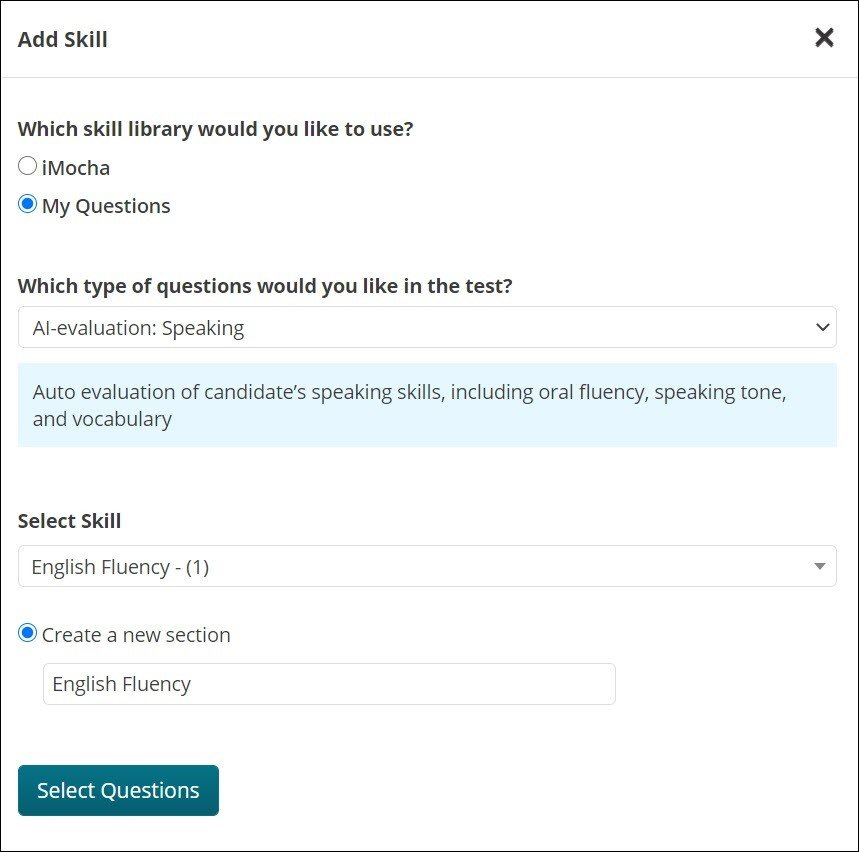 iMocha AI-Evaluation: Assess Business English for Non-Technical and Customer Facing Roles